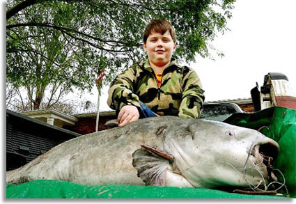 Pictures north carolina s big lakes big catfish game for Mississippi game and fish