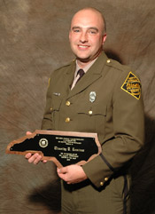 Seo timothy lominac wildlife enforcement officer 2005 for Nc fish and game